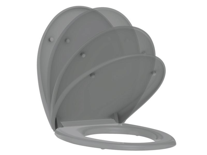Allibert Boreo abattant WC gris