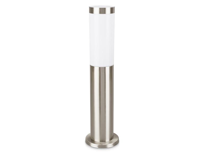 Prolight Borne extérieure 20W E27 inox mat ampoule non comprise