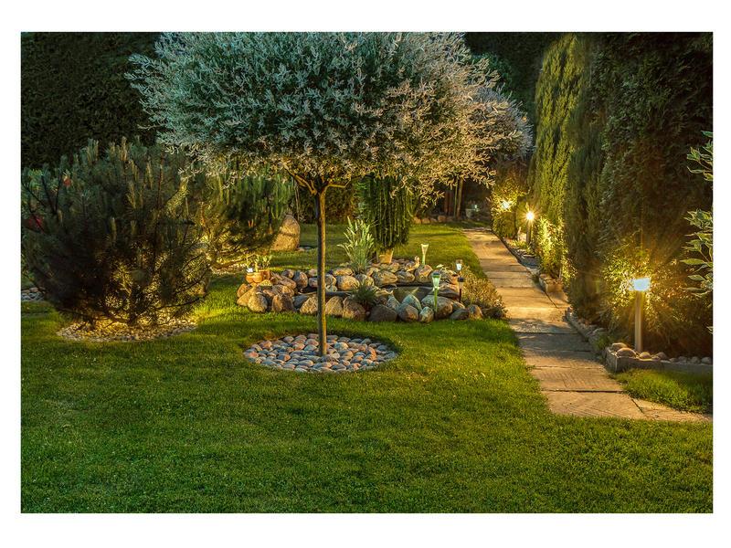 Prolight Branca LED tuinpaal 6W inox