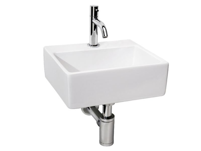 Differnz Brimo lavabo à poser avec robinet 32cm céramique