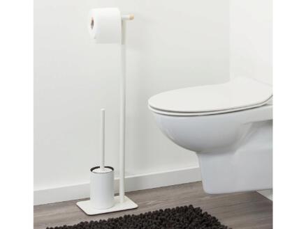 Sealskin Brix WC-borstelset metaal wit