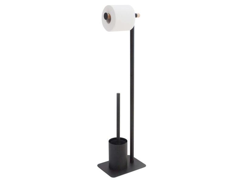 Sealskin Brix WC-borstelset metaal zwart
