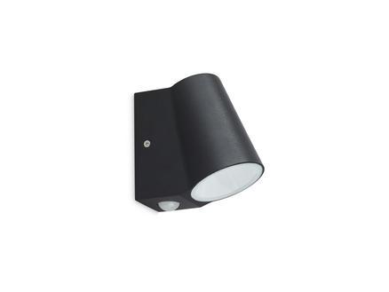 Prolight Bunol LED wandlamp 6W met PIR zwart