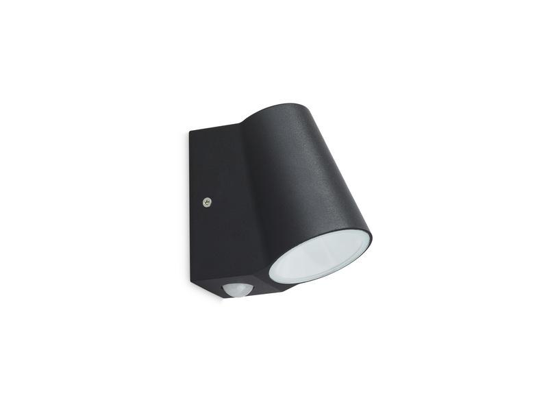 Prolight Bunol applique murale extérieure LED 6W avec PIR noir