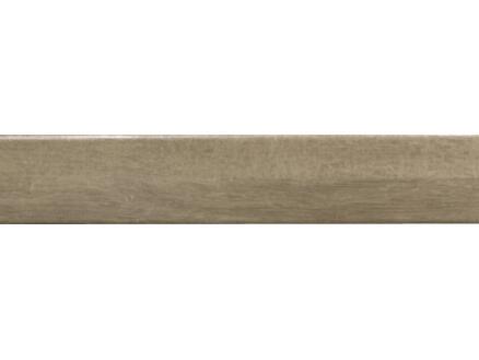 CanDo Burgos open trapprofiel 130x5,6 cm eik bruin