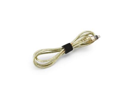 Cable Tidy Band attache-câble autoagrippant 1,2m noir