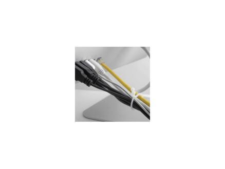 D-Line Cable Tidy Twists attache-câbles 20 pièces