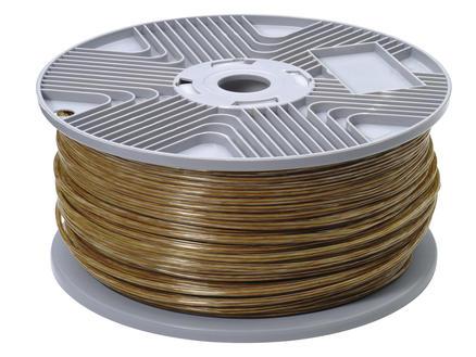 Profile Câble audio 2G 0,75mm² transparent par mètre courant