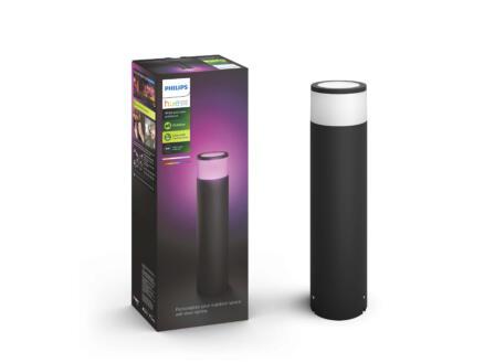Philips Hue Calla borne extérieure LED kit d'extension 8W 46cm dimmable noir