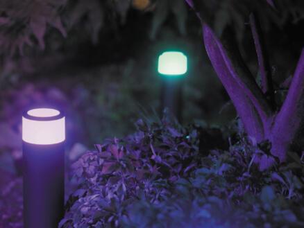 Hue Calla borne extérieure LED kit d'extension 8W 46cm dimmable noir