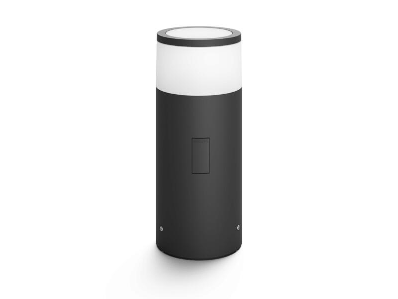 Hue Calla borne extérieure LED kit d'extension 9,5W 25cm noir