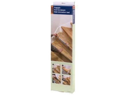 CanDo CanDo Outil de mesure pour rénovation d'escalier boîte à 1 pièce
