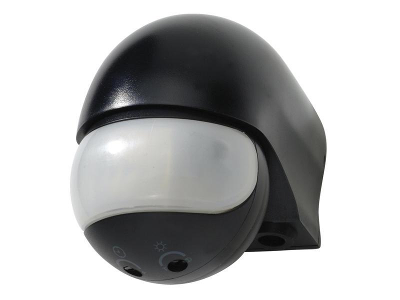 Capteur de mouvement apparent 180° noir