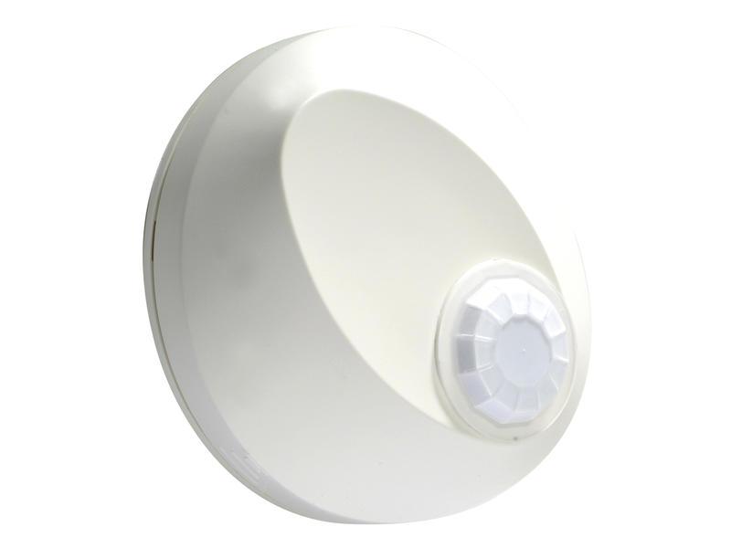 Capteur de mouvement apparent 360° blanc