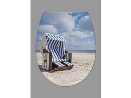 Carolina Beach Strandkorb WC-bril