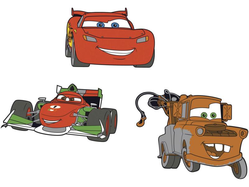 Disney Cars stickers mousse rouge 3 pièces