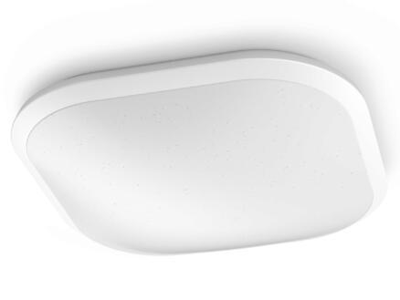 Philips Cavanal plafonnier LED carré 18W blanc dimmable