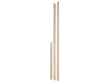 Jewe Chambranle de porte sapin set à onglet 16x68 mm 215cm