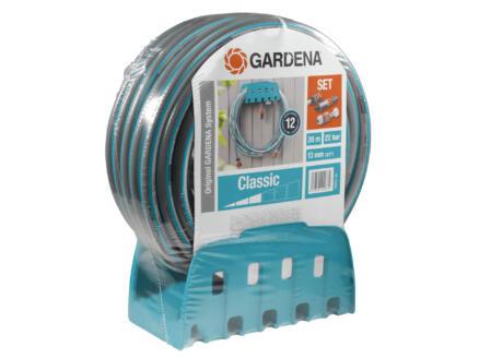 Gardena Classic muurslanghouder met tuinslang 13mm x 25m