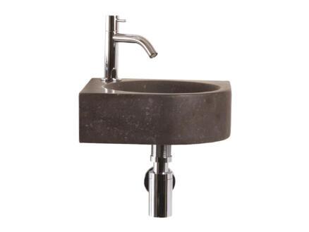 Differnz Cleo lave-mains 30cm robinet compris bleu