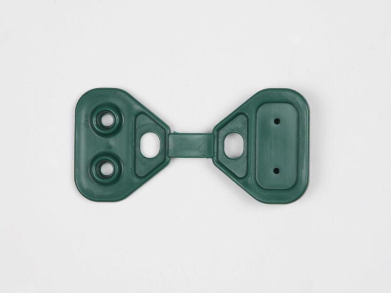 Clips pour toile d'ombrage heavy verts 20 pièces