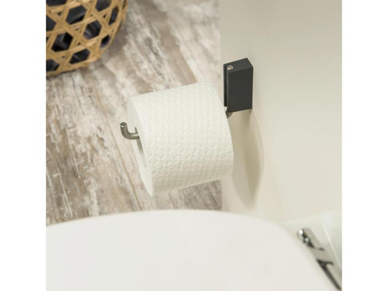 Tiger Cliqit porte-papier toilette de réserve inox brossé