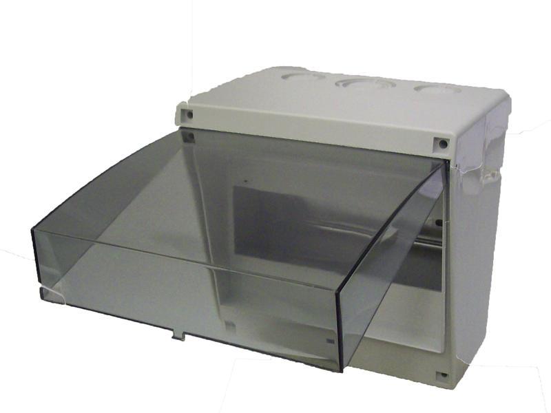 Vynckier Coffret à fusibles Fix-O-Rail junior 8 modules