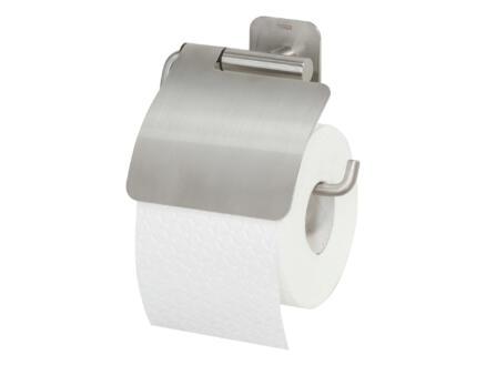 Tiger Colar porte-papier toilette couvercle inox brossé