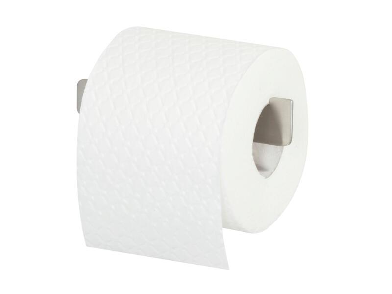 Tiger Colar porte-papier toilette plat inox brossé