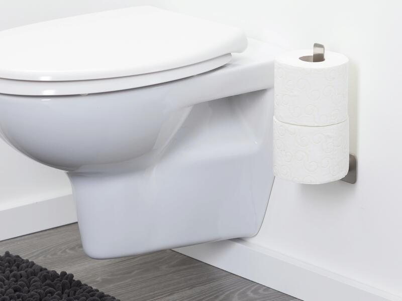 Tiger Colar support papier toilette inox brossé