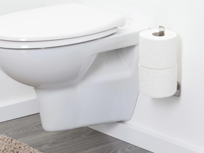 Tiger Colar support papier toilette inox poli