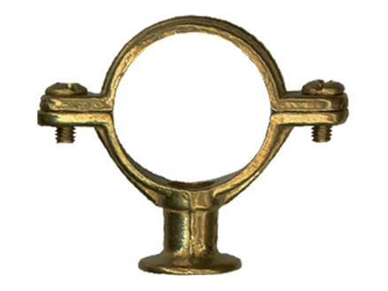 Saninstal Collier en laiton 15mm 5 pièces