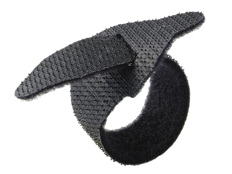 Legrand Collier serre-câble autoagrippant 150mm noir 10 pièces