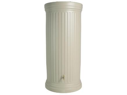 Garantia Colonne Romaine tonneau de pluie 1000l sable
