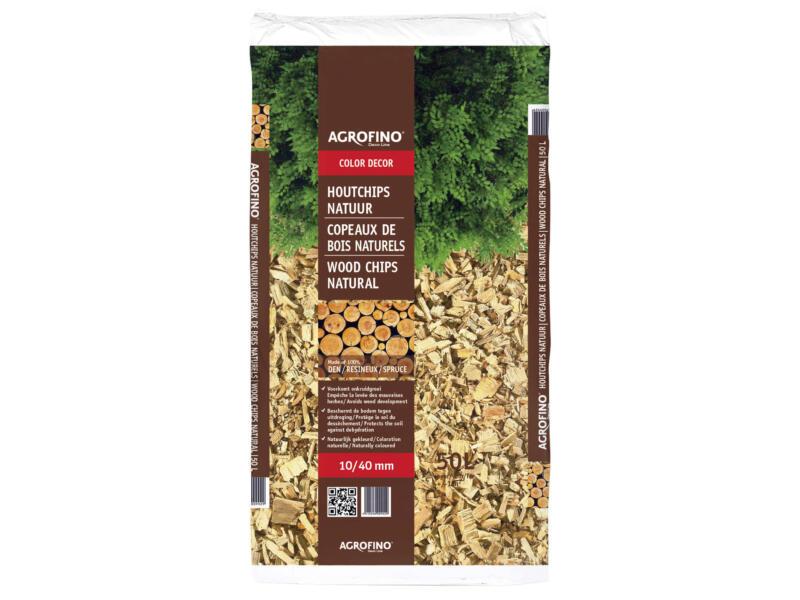 Color Décor copeaux de bois naturels 10-40 mm 50l
