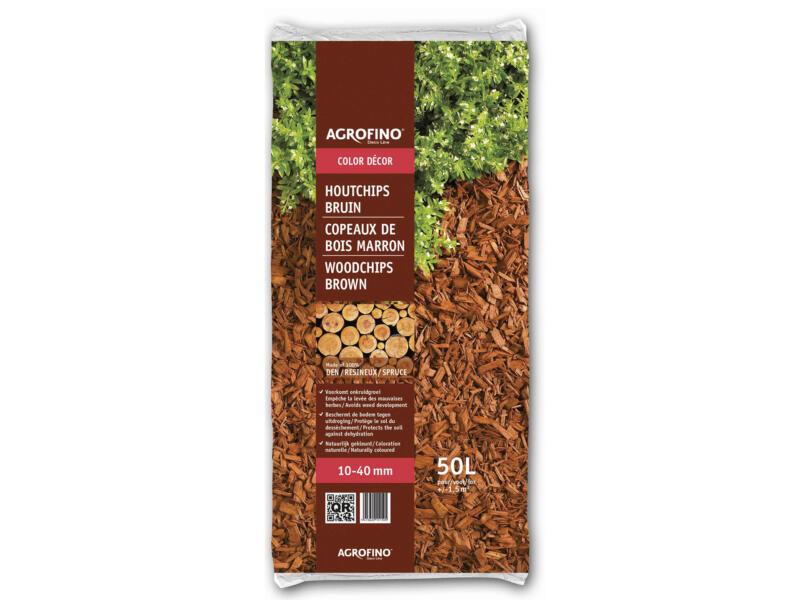 Agrofino Color Decor houtchips 10-40 mm 50l den