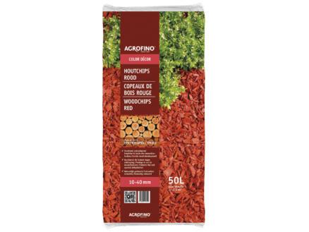 Color Decor houtchips 10-40 mm 50l rood