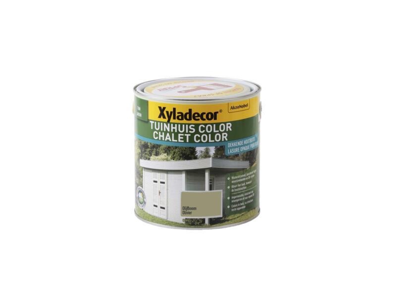 Xyladecor Color houtbeits tuinhuis 2,5l olijfboom