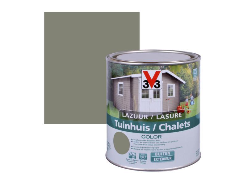 V33 Color lasure bois chalet satin 0,75l little river