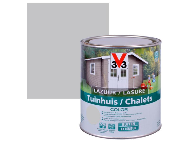 V33 Color lasure bois chalet satin 0,75l pure everest
