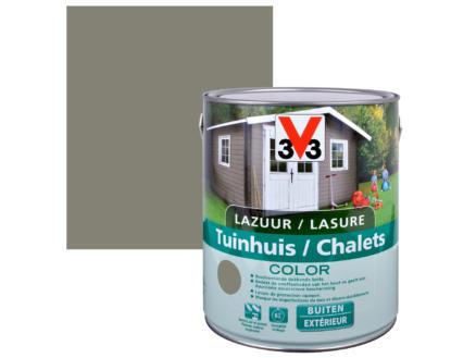 V33 Color lasure bois chalet satin 2,5l little river