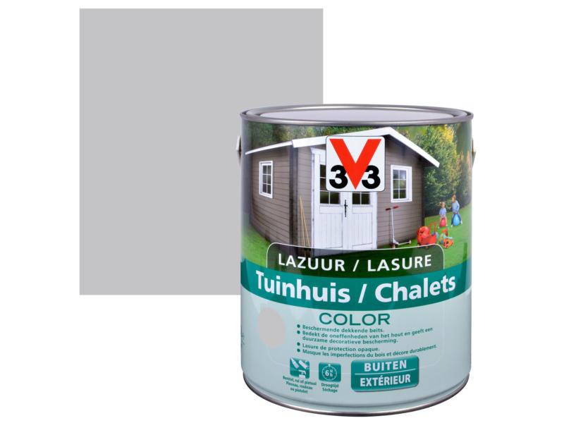 V33 Color lasure bois chalet satin 2,5l pure everest