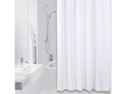 Differnz Color rideau de douche 240x200 cm blanc