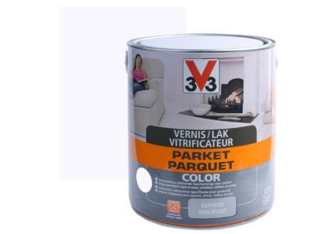 V33 Color vernis / lak parket zijdeglans 2,5l wit