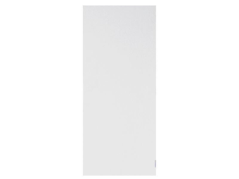 Solid Colore porte intérieure 211x68 cm prépeint sans entaillage