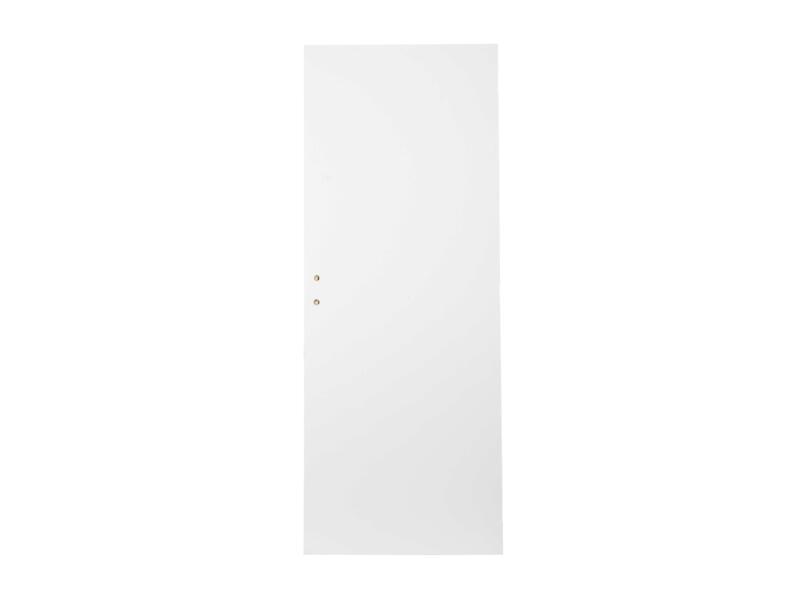 Solid Colore porte intérieure 211x93 cm prépeint