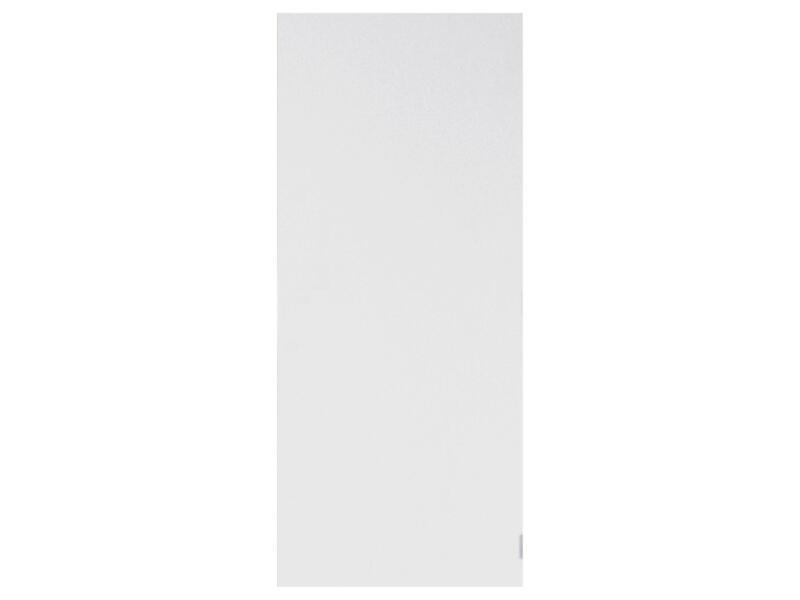 Solid Colore porte intérieure coupe-feu 201x88 cm prépeint sans entaillage