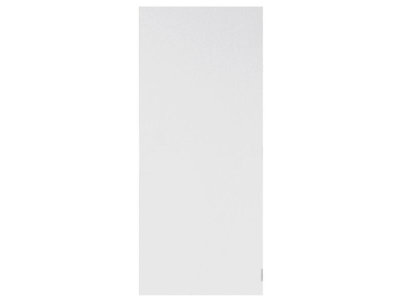 Solid Colore porte intérieure coupe-feu 211x78 cm prépeint sans entaillage