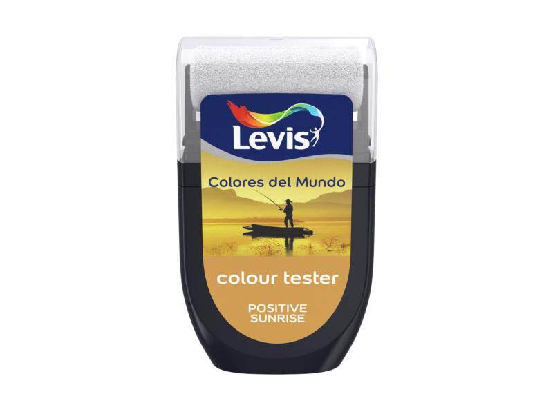 Levis Colores del Mundo testeur peinture murale extra mat 30ml positive sunrise