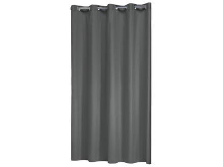 Coloris douchegordijn 180x200 cm grijs